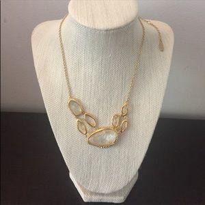 NWOT Alexis Bittar Multistone Infinity Necklace